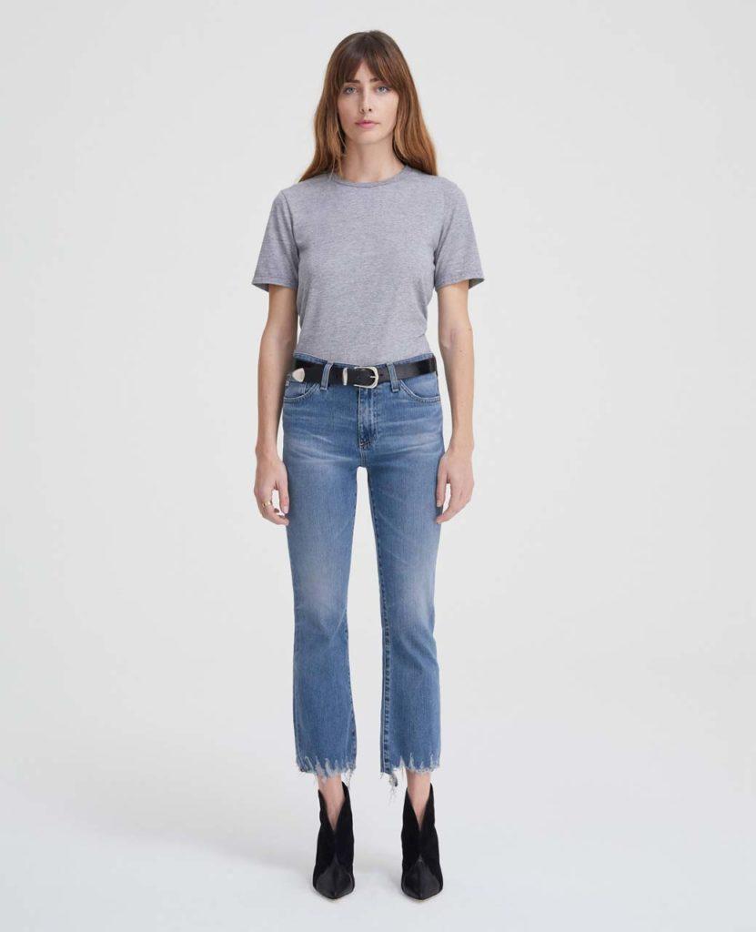 ag jeans - distressed denim