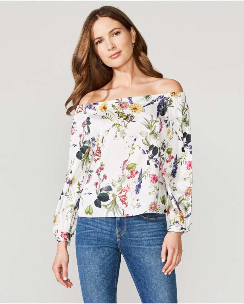 bailey 44 - floral top