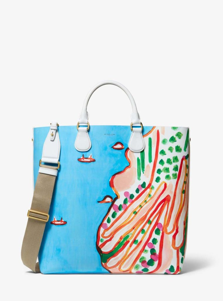 michael-kors-COASTAL-Dandridge-Printed-Calf-Leather-Christina-Zimpel-Tote