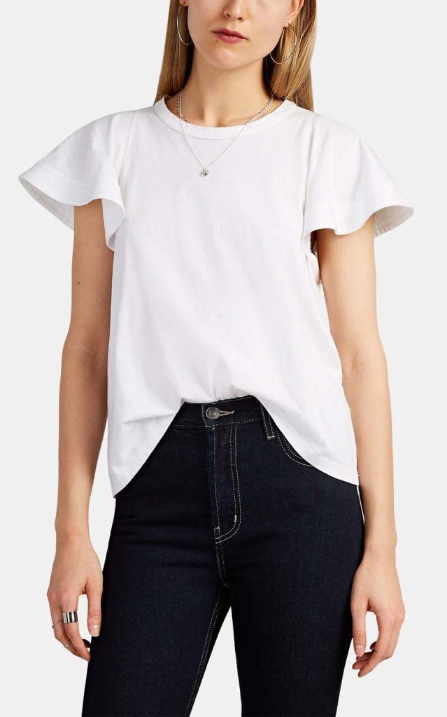 A.L.C. Carrie Cotton T-Shirt