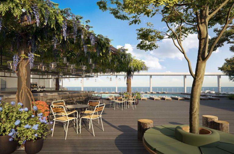 Asbury Ocean Club Pool Bar