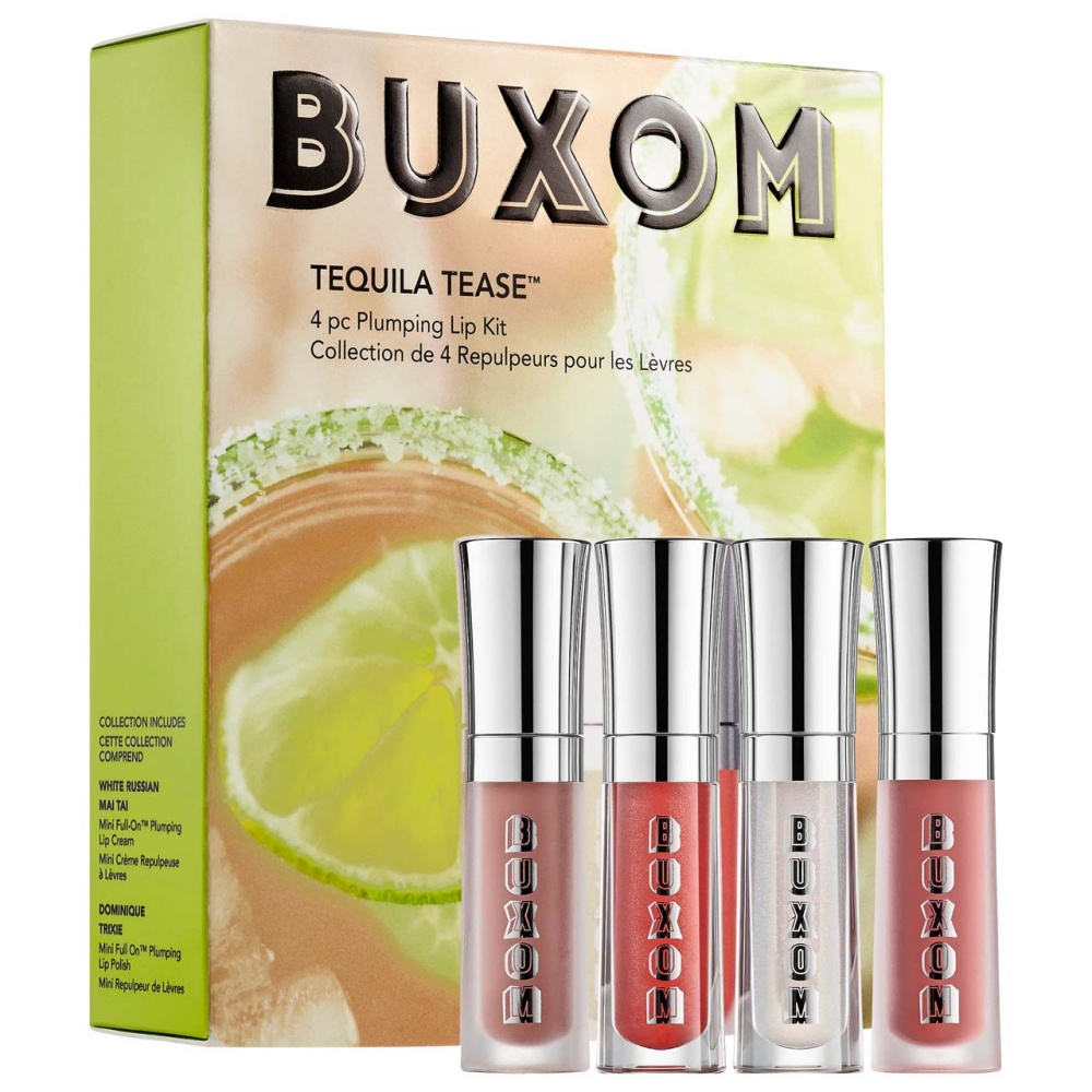 Buxom Tequila Tease Plumping Lip Gloss Kit