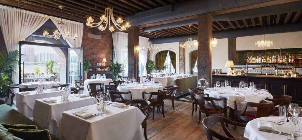 Cecconi's Dumbo Main Dining Room 1