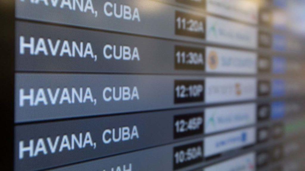 "Cuban travel ""No Mas"""
