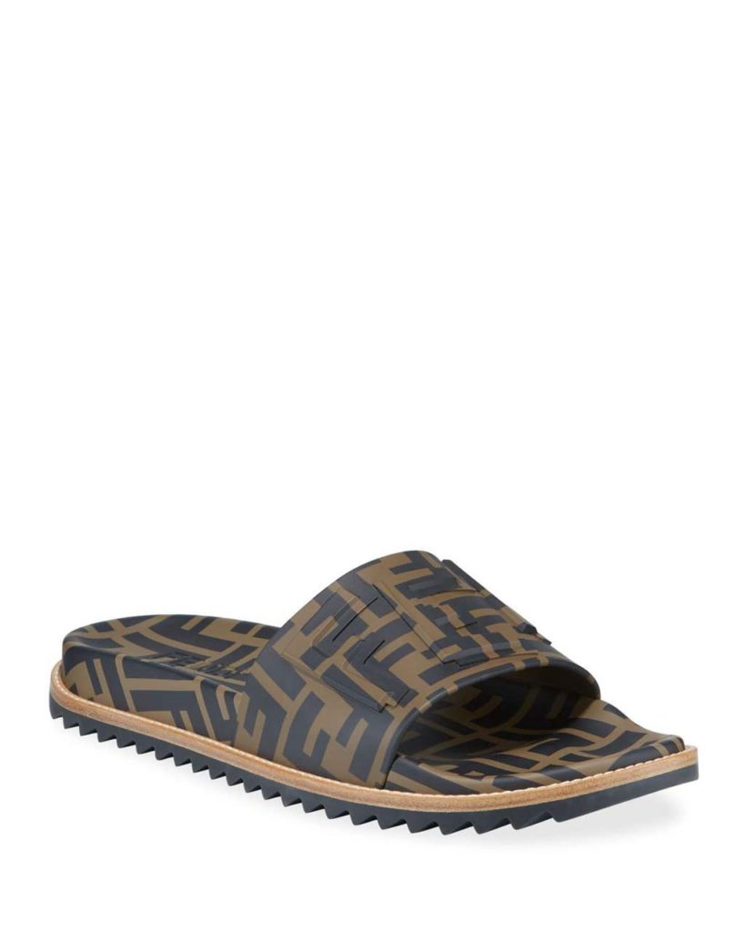Fendi Rubber Slides $590