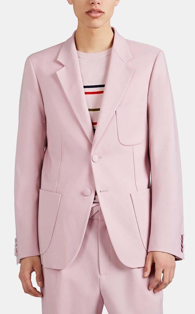 Sies Marjan Roger Wool Two-Button Blazer
