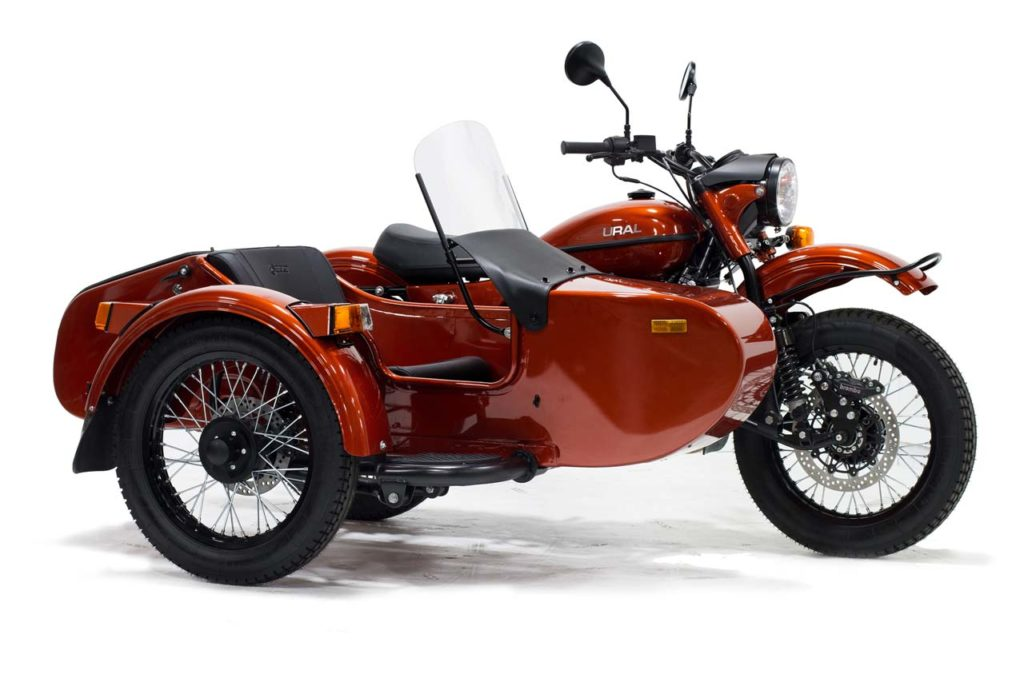 URAL CT Motorcycle & Sidebar