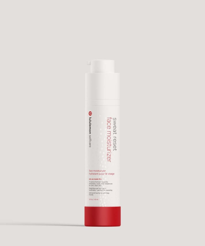 LuluLemon Self Care Sweat Reset Face Moisturizer