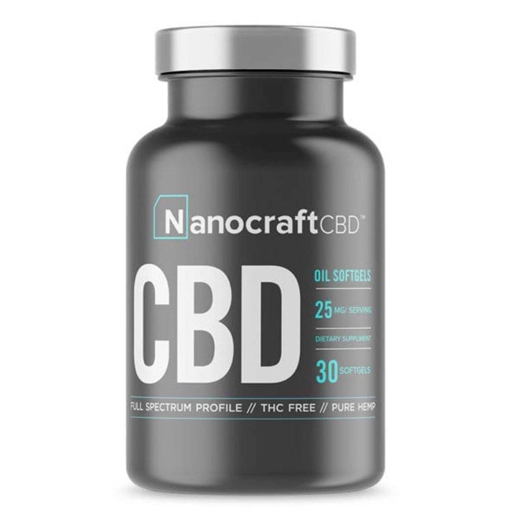 Nanocraft CBD Oil Softgels