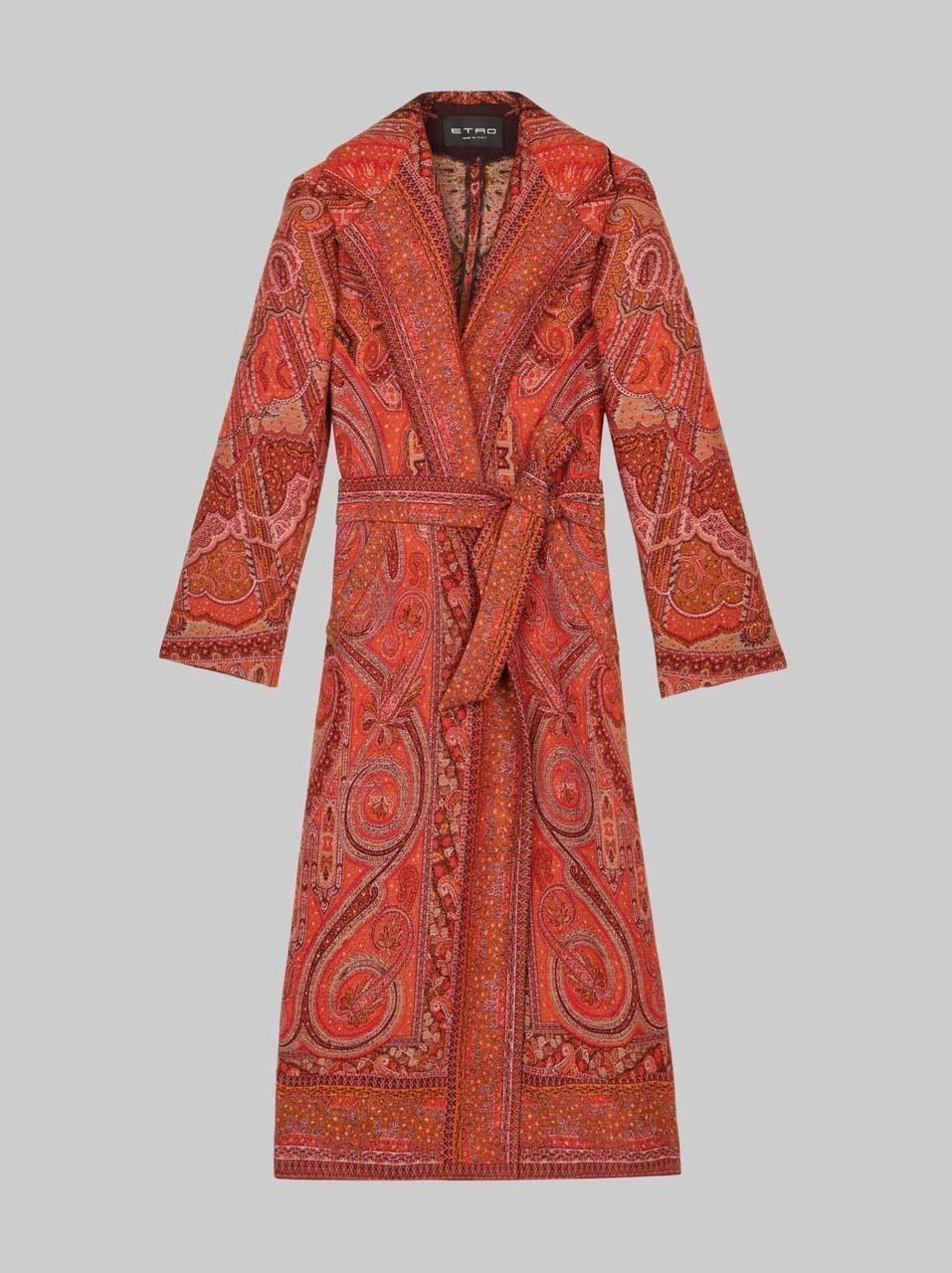 Etro Paisley Wool Coat $4,470 _1