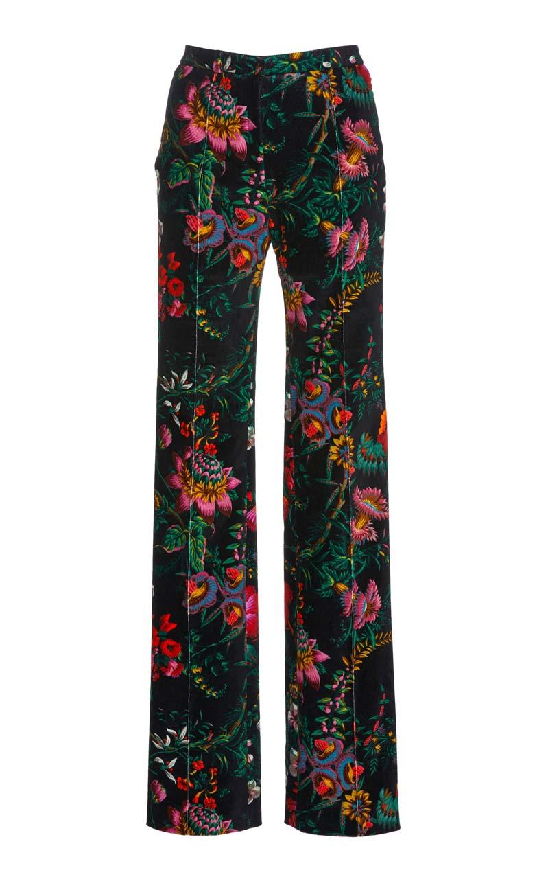 Paco Rabanne Velvet Trousers $900