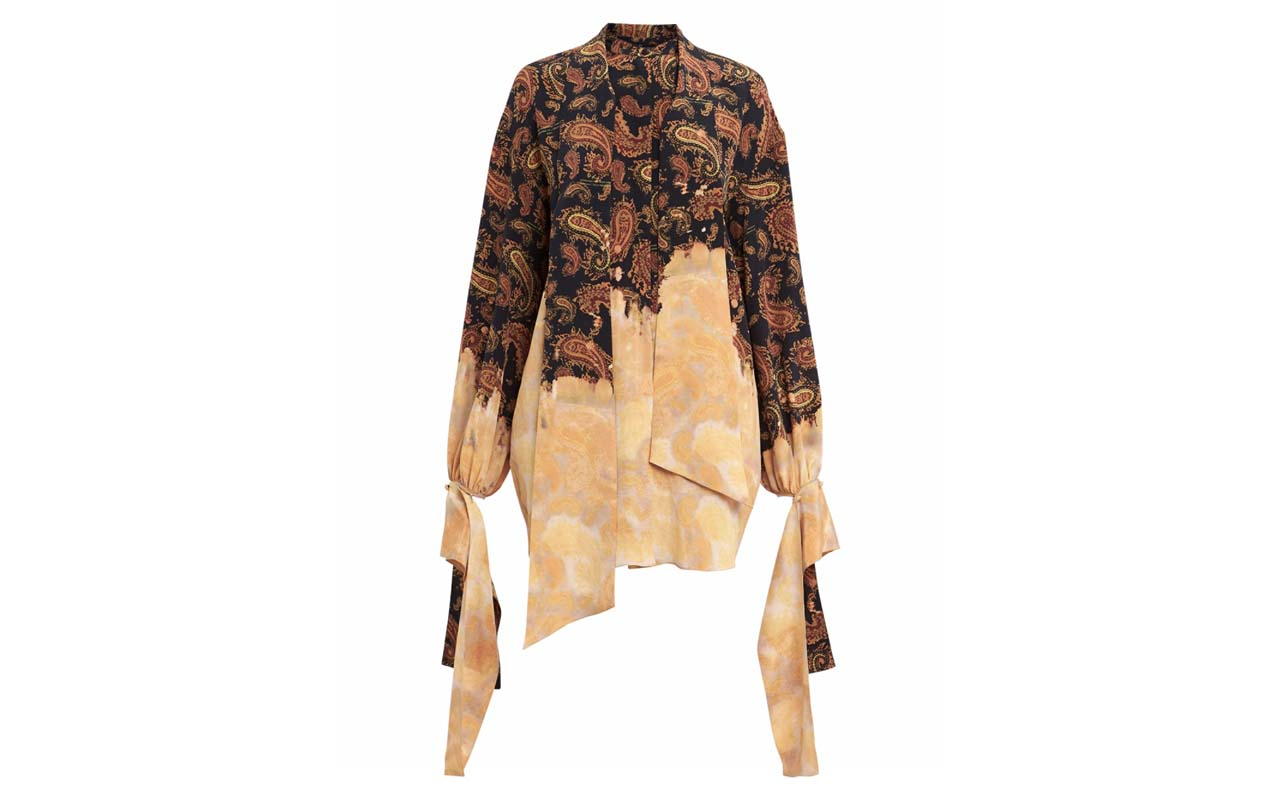 __Rokh Bleached Blouse $920