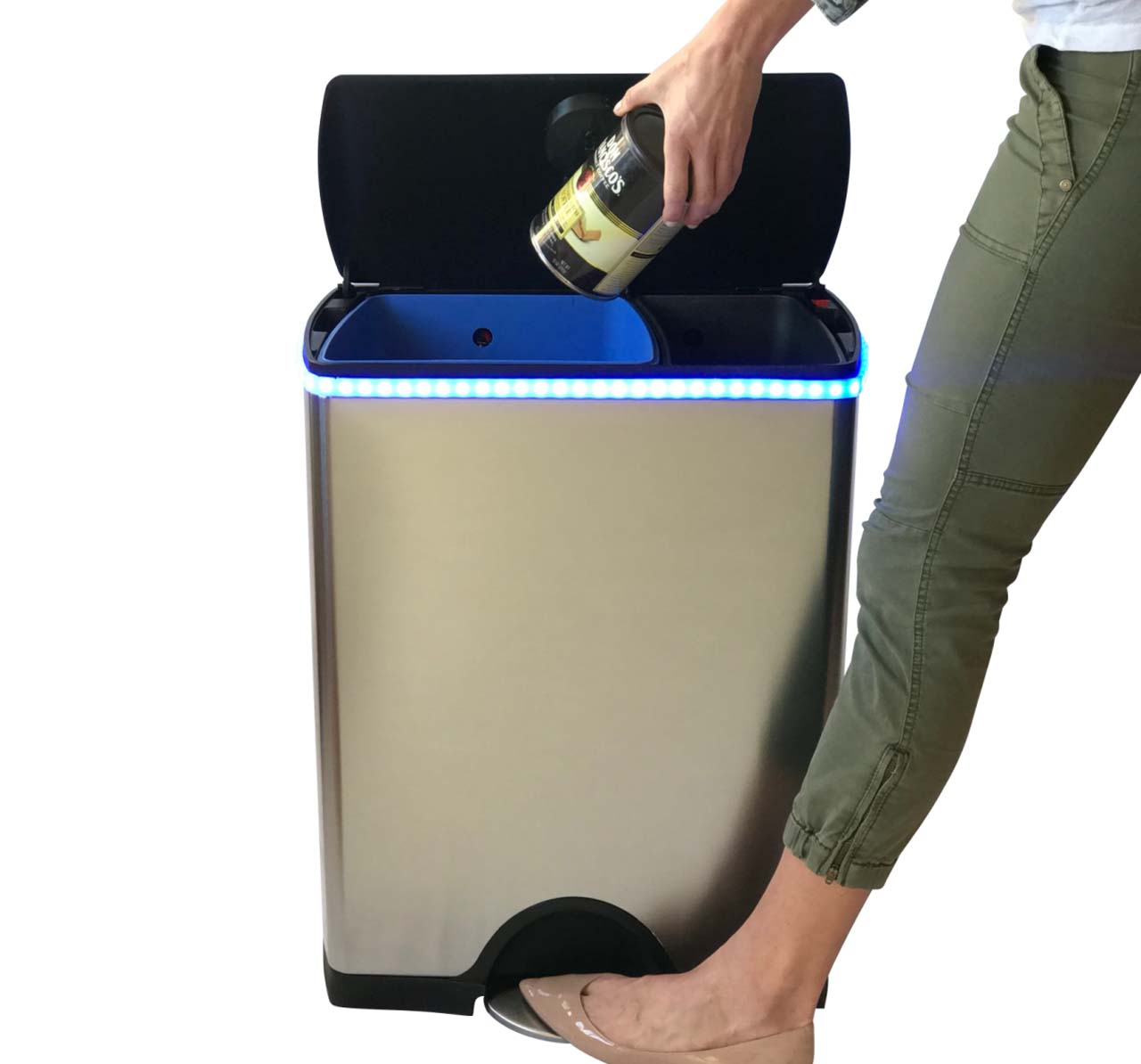 Garbi smart garbage and recycling bin