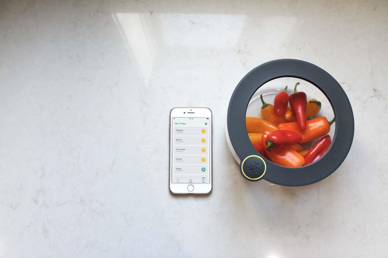 Ovie smart food storage