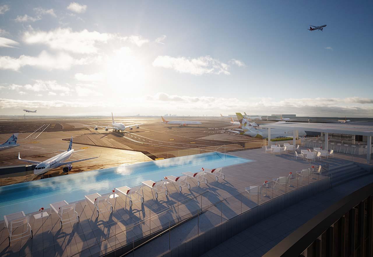 TWA Hotel_Rooftop Pool