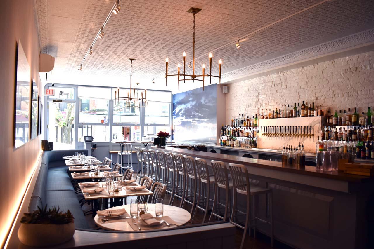 The Longshoreman Dining Room by Kristen Parisi