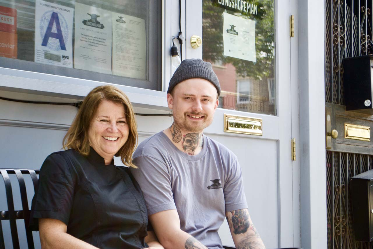 The Longshoreman Owner _ Chef Michelle Ewan + Exec Chef Kevin Noccioli by Lily Brown